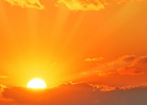 How Pollution Changes the Variations in Sunlight