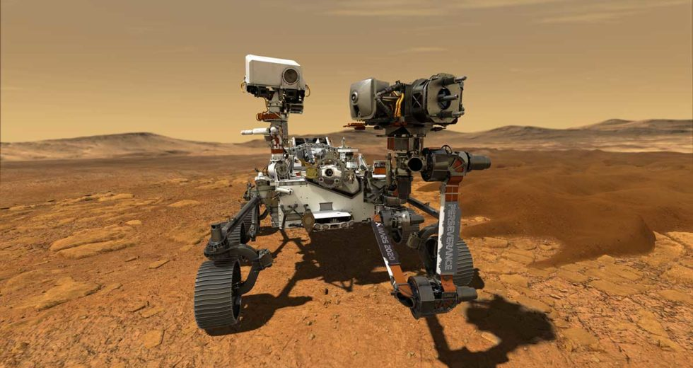 NASA Reveals How It Sounds Like to Drive on Mars (Literally Speaking)