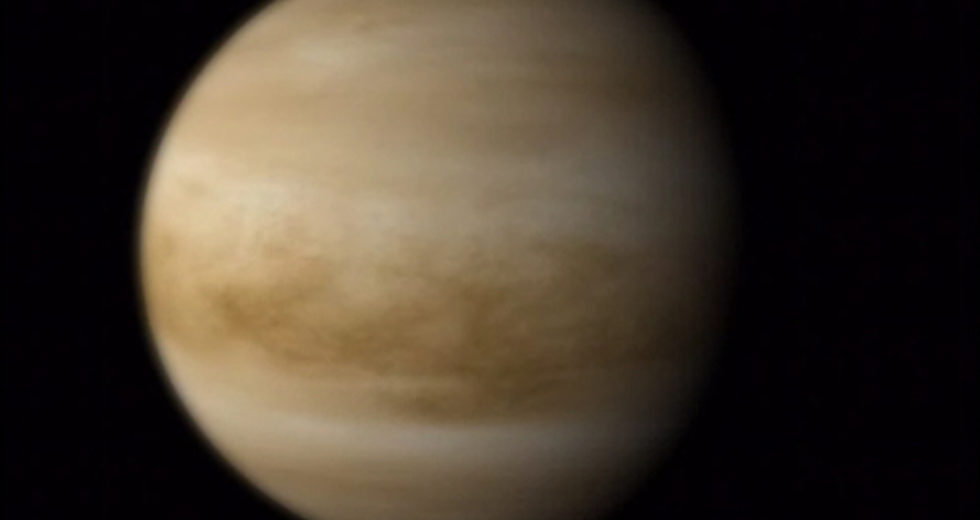Venus Close-Flight Uncovers Low-Frequency Radio Signal Throughout The Planet's Atmosphere