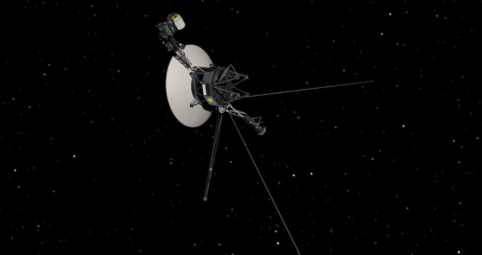 NASA's Voyager 1 Spacecraft Detects a Hum That Ignites the Human Imagination