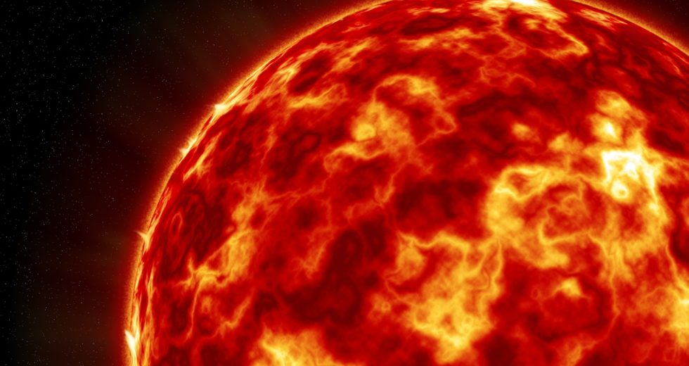 Multiple Explosions Occur at the Sun's Surface, Releasing Energy Towards the Earth