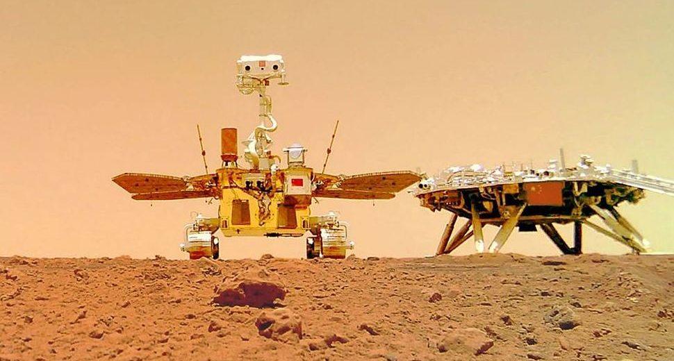 China's Rover Zhurong Captured By NASA's HiRISE Camera – Check Out the Photo