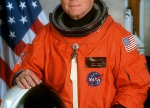 NASA Celebrates: It's the 100th Birthday of the 1st American Who Orbited the Planet