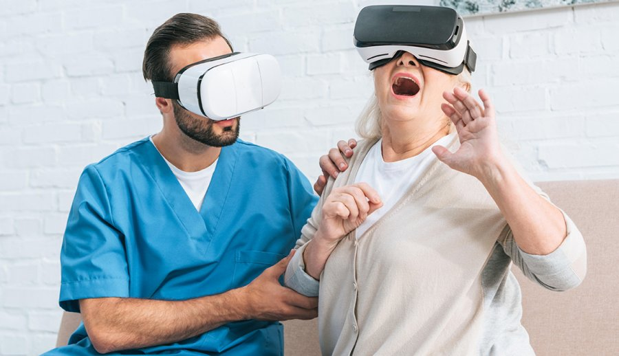 Top Use-Cases Of Using VR In Healthcare