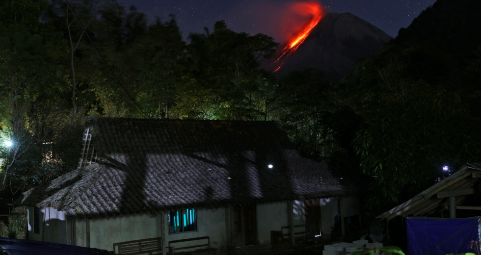 Mount Merapi Strikes Again With Extreme Lava and Gas Clouds