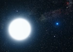 Astronomers Find Double-Lined White Dwarf Binary